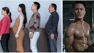 Chińska rodzina przez 6 miesięcy trenowała. Zobaczcie fenomenalne zdjęcia przed