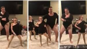 Kiedy córki poprosiły go, żeby zatańczył z nimi, prawie dostał zawału, ale potem