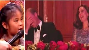 Mała dziewczynka miała nietypową prośbę do księcia Williama. Ku rozbawieniu tłum