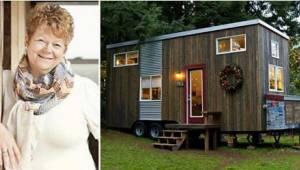 Samotna, uboga matka skonstruowała domek o powierzchni 18 metrów kwadratowych. W