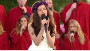12-latka śpiewa klasyk od Elvisa Presleya i zdumiewa wszystkich swoim wyjątkowym