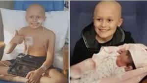 9-latek chory na nowotwór poznał swoją siostrzyczkę tuż przed śmiercią. Jedno zd
