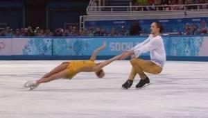 Ten duet na łyżwach sprawił, że tłum oszalał!