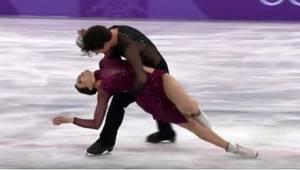 To, jak Tessa Virtue i Scott Moir, zaprezentowali się na Igrzyskach Olimpijskich