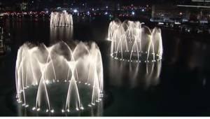 Żadna fontanna  multimedialna nie może się równać z tą z Dubaju. Przekonajcie si
