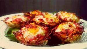 Zostały Ci ziemniaki z obiadu? Zrób TE muffinki z jajkiem, a nie pożałujesz! To