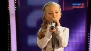 To, jak ona śpiewa, zdumiewa! Taka mała, a taki głos!