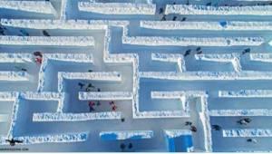 Najdłuższy, śnieżny labirynt świata znajduje się w Polsce! Kto wie, gdzie dokład