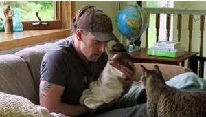 Nie byli pewni, czy ich zwierzaki zaakceptują dziecko... Zobaczcie ich pierwsze
