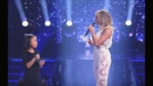 """Wielka gwiazda zapytała małą dziewczynkę, czy ta może zaśpiewać """"You Raise Me Up"""