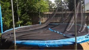 To, co zrobił ze starej trampoliny, jest genialne!