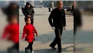 Zaraził swoje dwie wnuczki miłością do tańca. Zobaczcie ich wspólną choreografię