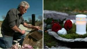 Od 13 lat zostawiał znicze i kwiaty w miejscu, w którym zginął jego syn. Teraz o