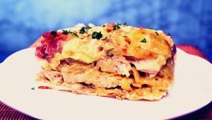 Ta smakowita lazania z kurczakiem stała się moim ulubionym daniem z makaronem! P