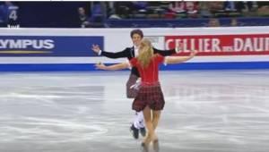 Szkockie rodzeństwo zachwyciło publiczność perfekcyjną choreografią.