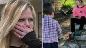 Wraz z szóstką dzieci trafiła na ulicę. Gdy podeszli do niej policjanci, była pr