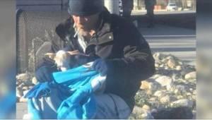 Za swój piękny gest bezdomny został doceniony w równie piękny sposób.