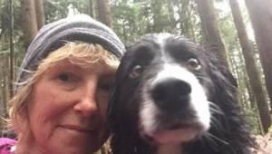 Kobieta uległa wypadkowi w lesie. Jej trzy psy utrzymały ją przy życiu przez trz