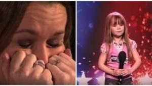 Sześciolatka zdradza jaką piosenkę zaśpiewa, gdy jurorzy słyszą jej głos nie mog