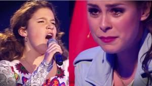 Wyszła na scenę i zaczęła śpiewać, gdy jurorzy się odwrócili by ją zobaczyć miel