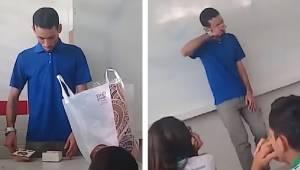 Uczniowie dowiedzieli się, że ich nauczyciel nie otrzymuje pensji i musi spać w