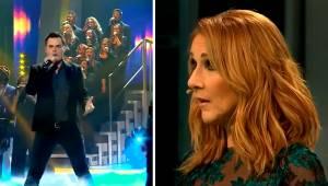Młody wokalista śpiewa przebój zespołu Queen. Zobacz minę Celine Dion gdy to usł