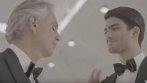 Andrea Bocelli zaśpiewał po raz pierwszy w duecie ze swoim synem. Piosenka zachw