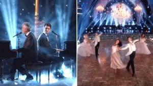 Andrea Bocelli i Matteo Bocelli wystąpili na żywo i wzruszyli do łez wszystkich