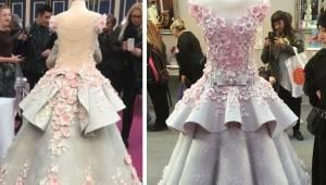 Wygląda na wspaniałą suknię ślubną, do czasu gdy internauci odkryli co naprawdę