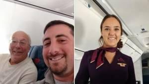 Jego córka jest stewardesą i musiała pracować w Wigilię i Boże Narodzenie, więc