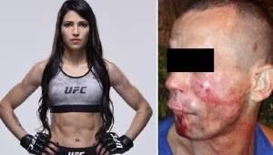Rabuś chciał okraść zawodniczkę MMA. Szybko tego pożałował.