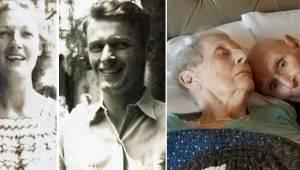 Para, która służyła podczas II Wojny Światowej, po 70 latach wspólnego życia umi