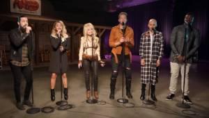 Pentatonix razem z Dolly Parton wykonują wspaniałą wersję piosenki Jolene. Ciark