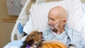 Ciężko chory mężczyzna w hospicjum miał tylko jedno życzenie. Chciał ostatni raz