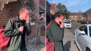 Młoda ratowniczka medyczna wychodzi do pracy. To co robią dla niej sąsiedzi odbi
