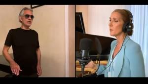 Celine Dion i Andrea Bocelli powracają z niezwykle poruszającą aranżacją swojego