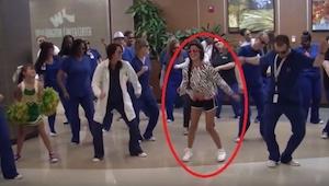 Dziewczynka chora na raka zaraziła swoim optymizmem cały personel szpitala. Zoba