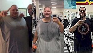 Zrzucił prawie 200 kilogramów i zainspirował innych do walki! Wielkie brawa dla